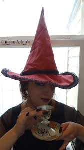 Red Witch Halloween Costume Rose Red Witch Hat Wizards Witch Hat Halloween Hobbit