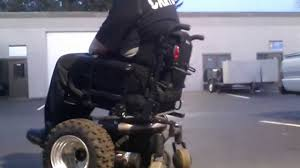 Power Chair With Tracks Initial Build Off Road Powerchair Youtube