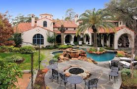 mediterranean mansion gated mediterranean mansion in houston texas