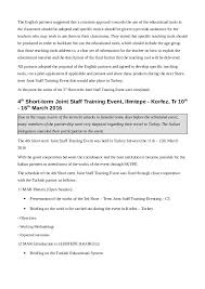 world bank resume format short term joint staff training events report