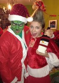 COUPLES ELF MOVIE BUDDY AND JOVI CHRISTMAS COSTUME Holiday Season