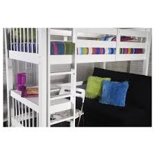 Pavo Bunk Bed Study Bunk In White