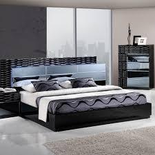 Contemporary King Bedroom Sets Bedroom Entertaining Manhattan Panel Customizable Bedroom Set
