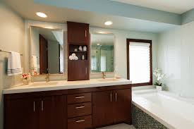 Bathroom Counter Storage Double Vanity With Cabinet In Middle Google Search Bathroom