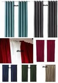 Deep Red Velvet Curtains Velvet Curtains Ebay