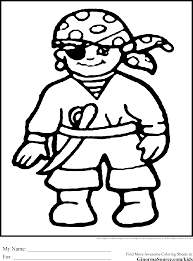 coloring download pirate coloring pages for preschool pirate