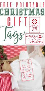 christmas gift tag free printables farmhouse inspired u2014 the