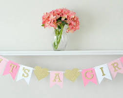 it s a girl baby shower decorations girl baby shower etsy