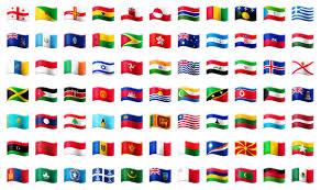 Flags Of Countries Galaxy Note 7 Brings Flag Emojis