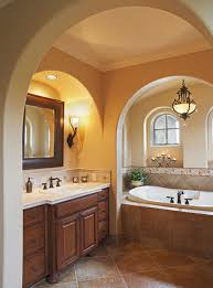 Murray Feiss Bathroom Lighting by Murray Feiss Bathroom Mediterranean With Accent Tiles Alcove Arch