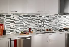 mosaic backsplash kitchen kitchen modern interior furniture ideas feature trendy glossy