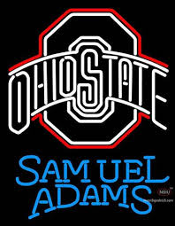 ohio state neon light beer with university neon signs tagged samuel adams with
