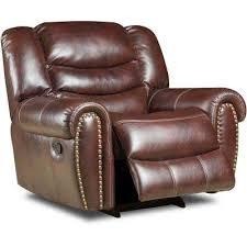 modern recliner chairs living room furniture the home depot