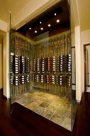 glass rack design wine cellar contemporary with frameless glass