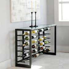 Charleston Forge Bakers Rack Anderson Wine Console Holds 60 Bottles