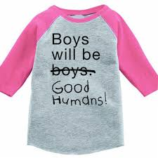 boys will be humans baby t shirt free to be