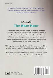 the blue hour a life of jean rhys lilian pizzichini