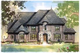 French European House Plans The Chambrey 1st Floor Owner U0027s Suite Cranbrook Custom Homes