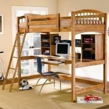 Modular Bunk Beds Pine Loft Bed With Desk Foter