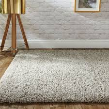 Modern Shaggy Rugs Modern Thick Fluffy Ivory Shaggy Rugs Non Shed Soft Area