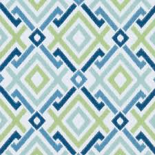 Navy And Green Curtains Navy Blue Geometric Upholstery Drapery Fabric By The Yard