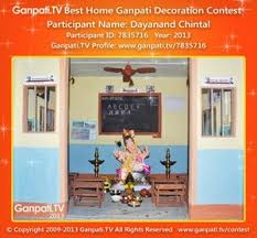 Home Decoration Themes Theme Based 20 Ganpati Home Decoration Ideas Part 1