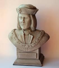 king richard iii sculpture bust