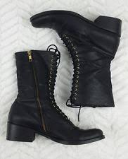 womens black combat boots target dolce vita s leather combat boots ebay