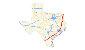 Texas Road Conditions Map U S Route 59 In Texas Wikipedia