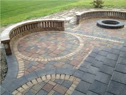 Backyard Ideas With Pavers Patio Design Deck And Paver Designs Pavers Enhance Your Brick
