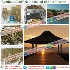 Mexican Thatch Roofing by Plastic Palm Artificial Synthetic Thatch Roofing Cover