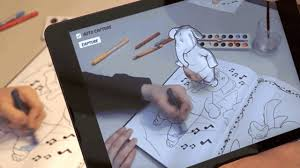 disney u0027s crazy new tech brings coloring books to life