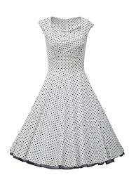 vintage dresses vintage cap sleeves square neck polka dots 50s cocktail party