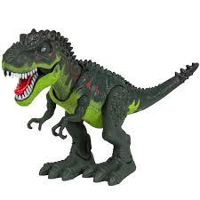 kids toy walking t rex dinosaur toy figure with lights u0026 sounds