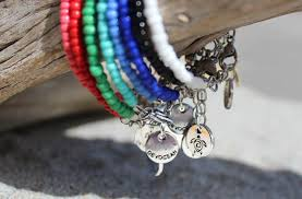 bead bracelet charm images Seed bead bracelets devocean co jpg