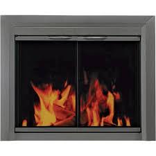 pleasant hearth craton fireplace glass door u2014 for masonry