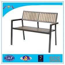 Plastic Wood Chairs Garden Aluminium Wood Chair