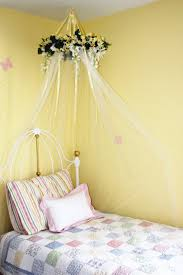 Diy Canopy Bed With Lights Bedding Alluring 7 Dreamy Diy Bedroom Canopies Icicle Lights And