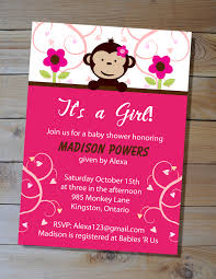 baby girl themes for baby shower monkey themed baby shower for girl il fullxfull 356346533 bz5v