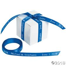 personalized ribbons personalized ribbon 3 8