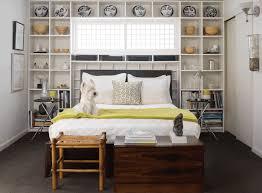 Headboard Bookshelf Bed Bookcase Contemporary Bedroom Colorado Homes U0026 Lifestyles