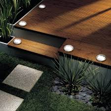 outside flood lights led aries solar post cap deck light by aurora