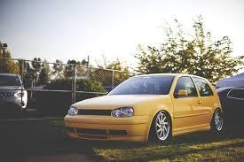 volkswagen yellow photos volkswagen golf mk4 yellow cars