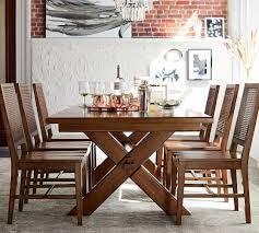 Tuscan Dining Room Toscana Extending Dining Table Tuscan Chestnut Pottery Barn
