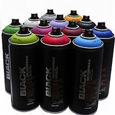 montana black 400ml popular colors set of 12 graffiti street art