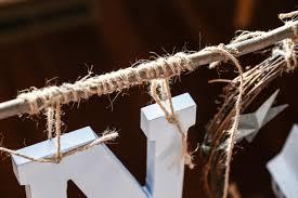 make a wooden letter and grapevine noel wreath diy network blog