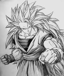 draw super saiyan goku hd