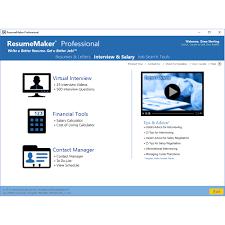 Individual Software Resume Maker Amazon Com Resumemaker Professional Deluxe 20 Software