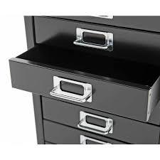 Rymans Filing Cabinet Bisley Desktop Cabinet 10 Drawer H590xw279xd380mm Steel Filing