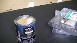 garage workbench dupli color bed armor youtube
